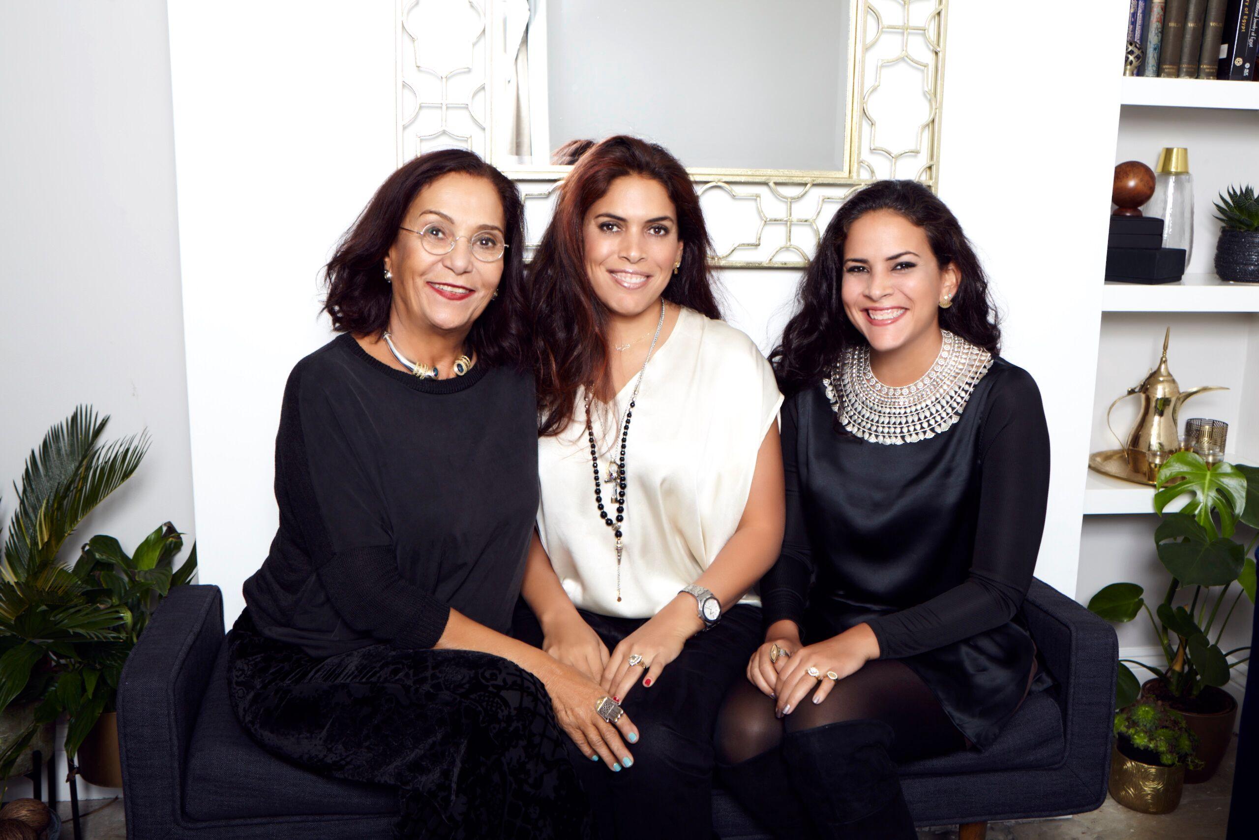 Azza Fahmy, Amina & Fatima Ghali