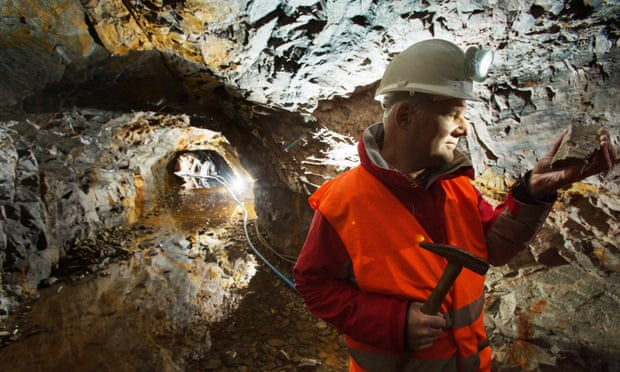 Scotgold Resources chief Richard Gray at the Cononish goldmine